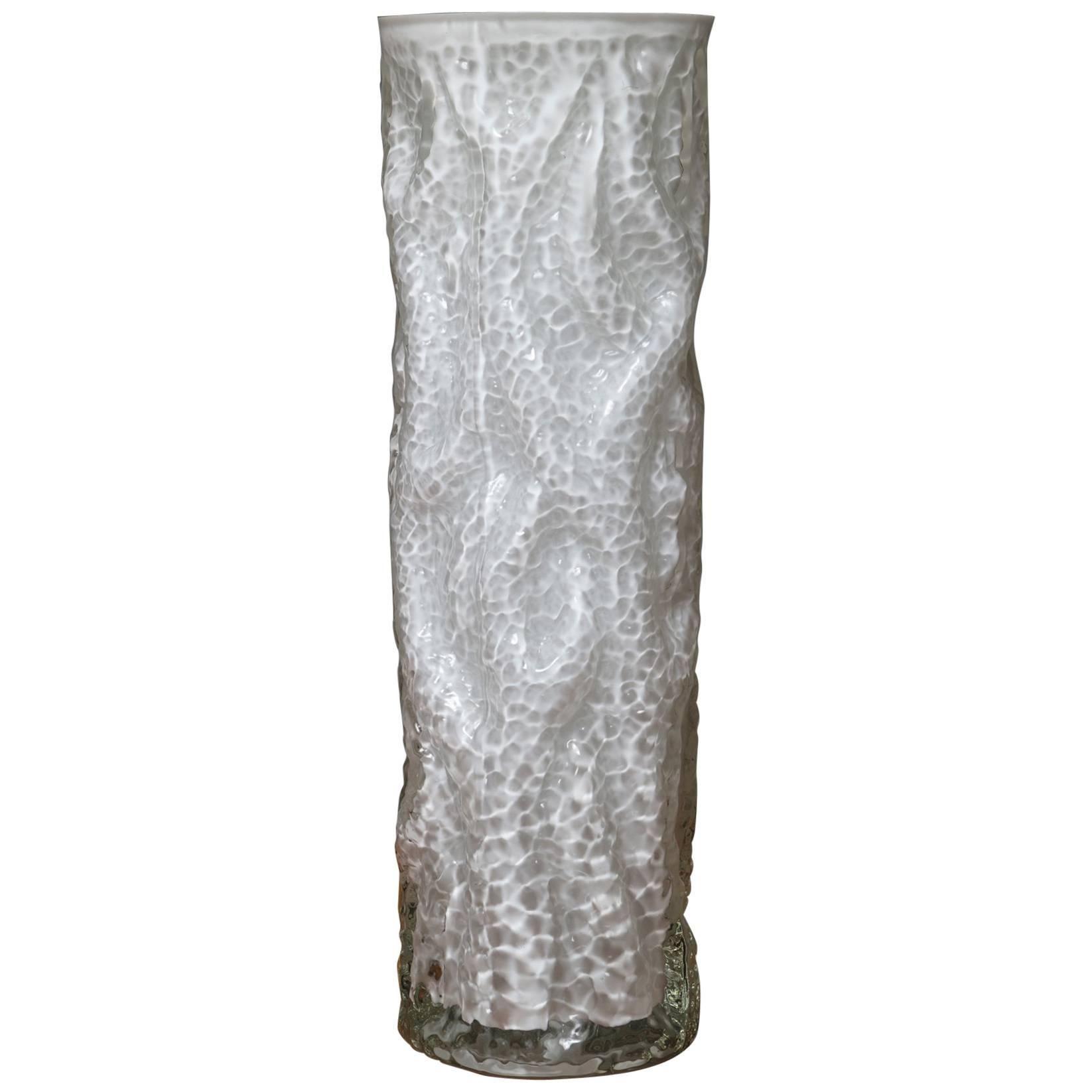 Large Murano Vase by Carlo Nason for Mazzega
