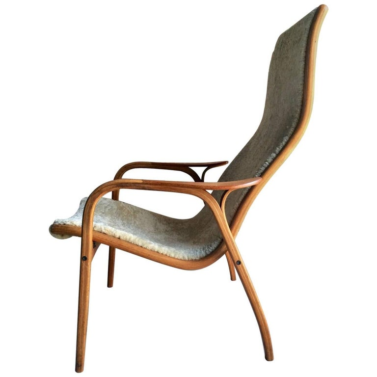 Midcentury 'Lamino' Lounge Chair by Yngve Ekstrom by Swedese, Sweden, 1960s