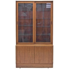 Danish Rosewood Vitrine by Poul Hundevad for Hundevad & Co, 1960s