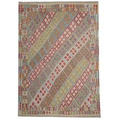 Oriental Kilim Rugs Multi color Traditional Rugs Afghan Rugs Carpet