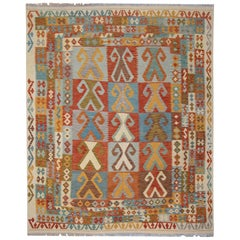 Handmade Carpet Kilim Rugs, Traditional Oriental Rugs, Carpet for Sale