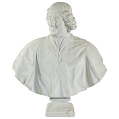 Plaster du Louvred Bust of Boissuet Jacques-Benigne