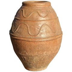 Large 18th Century Spanish Terracotta Water Jar