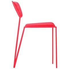 Minimalist Chair in Brazilian Contemporary Design, by Tiago Curioni