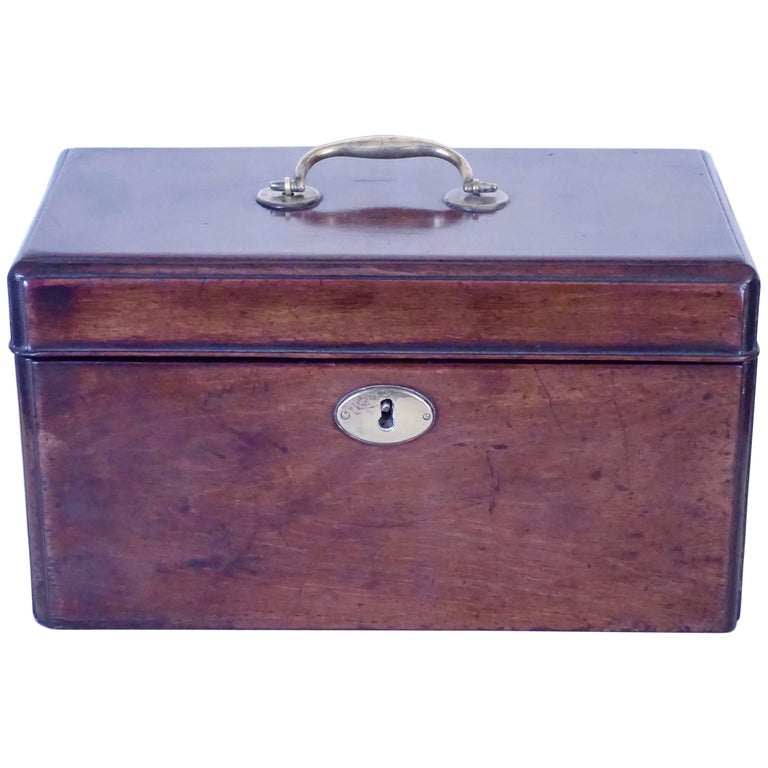 Georgian Mahogany Tea Caddy
