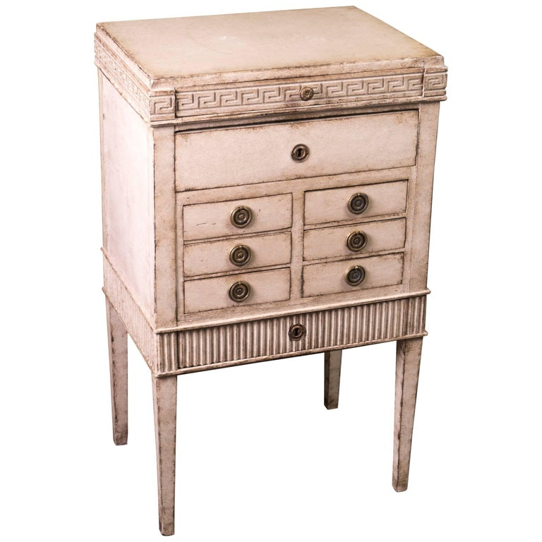 Louis XVI Petit Painted Commode For Sale