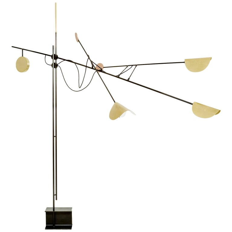 Moon Floor Lamp - Extra Large, Contemporary French Lighting For Sale