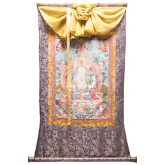 19th Century Tibetan Thangka of Chenresi