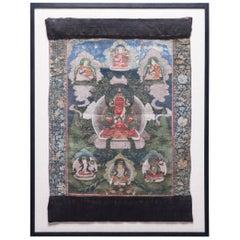 19th Century Tibetan Thangka of Amitayus