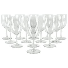 Vintage Baccarat Crystal Wine Water Glassware Set