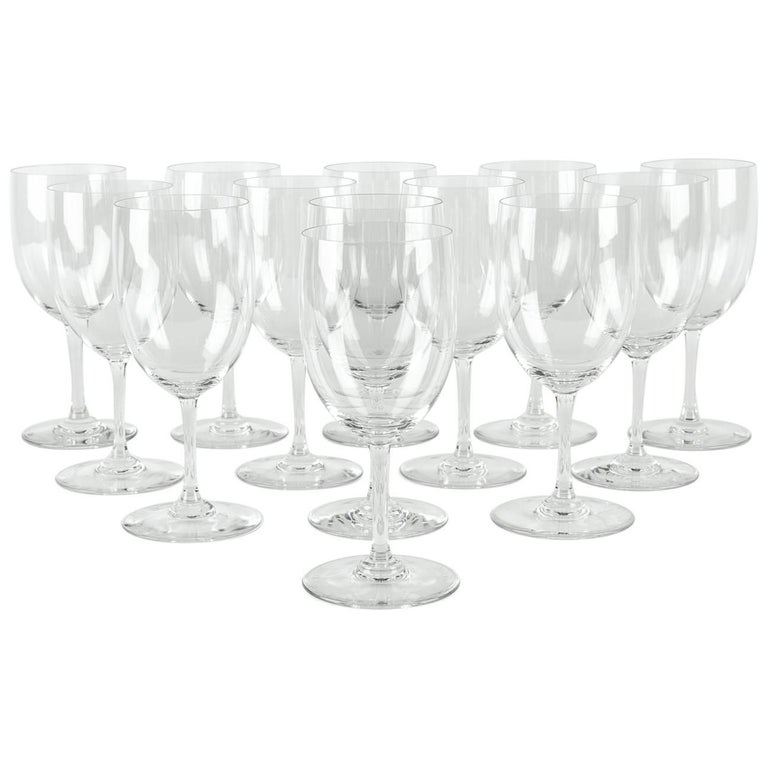 Baccarat crystal glassware set