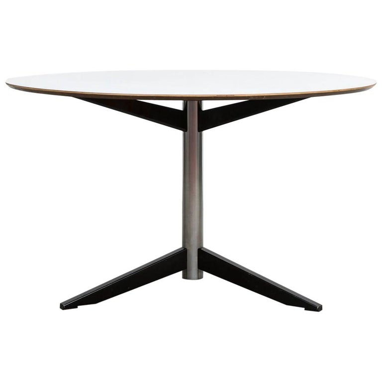 Round Martin Visser Dining Table For Sale