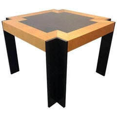 Midcentury Pace Collection Exotic Wood Table