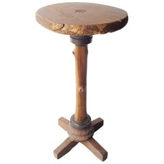 Dutch Vintage Selfmade Pub Table from the 20th Century