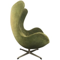 Early Original Egg Chair by Arne Jacobsen for Fritz Hansen, circa 1964