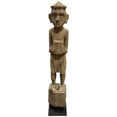 Andrianna Shamaris Hand-Carved Teak Wood Statue