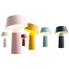 Bicoca Portable and Rechargeable Table Lamp in Six Polycarbonate Colors, Marset