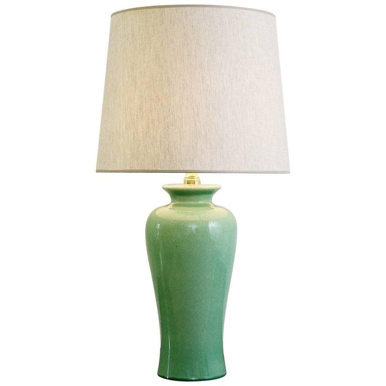 Zaccagnini Ceramic Pottery Table Lamp, Italy