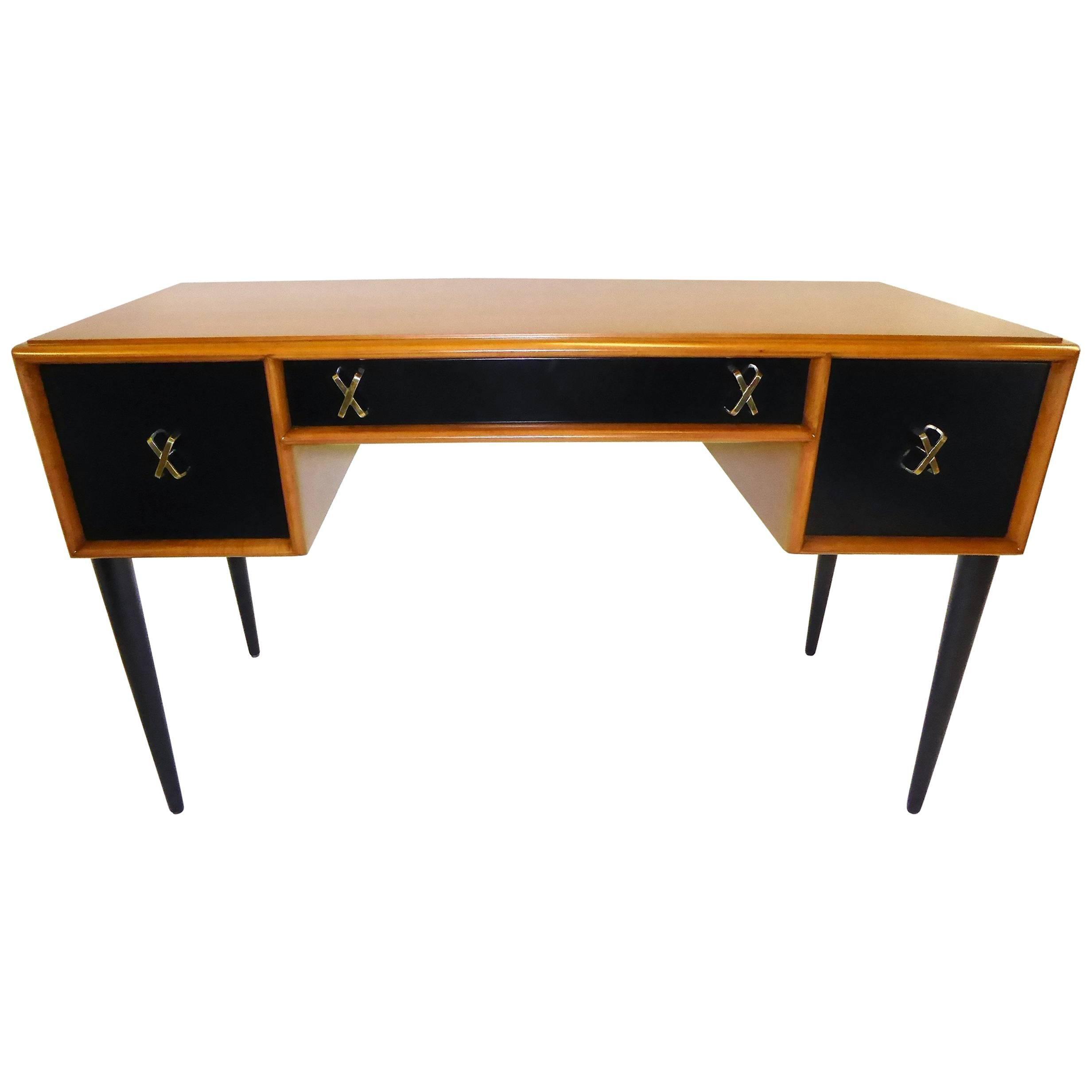 Beau Early 1950s Paul Frankl Desk Vanity For John Stuart Johnson Furniture At  1stdibs
