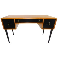 Early 1950s Paul Frankl Desk Vanity for John Stuart Johnson Furniture