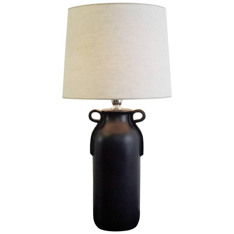 Zaccagnini Ceramic Pottery Table Lamp, Italy