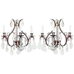 Pairs of French Louis XV Style Wall Sconces