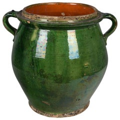 19th Century French Terracotta Pot