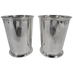 Pair of International Sterling Silver Mint Julep Cups