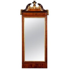 Antique 18th Century George III Pier Mirror
