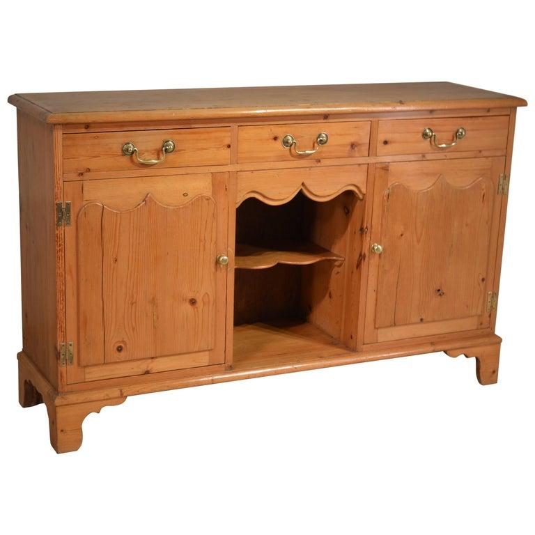 19th Century English Pine Dresser