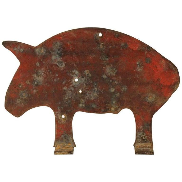 Large Pig Carnival Shooting Gallery Target