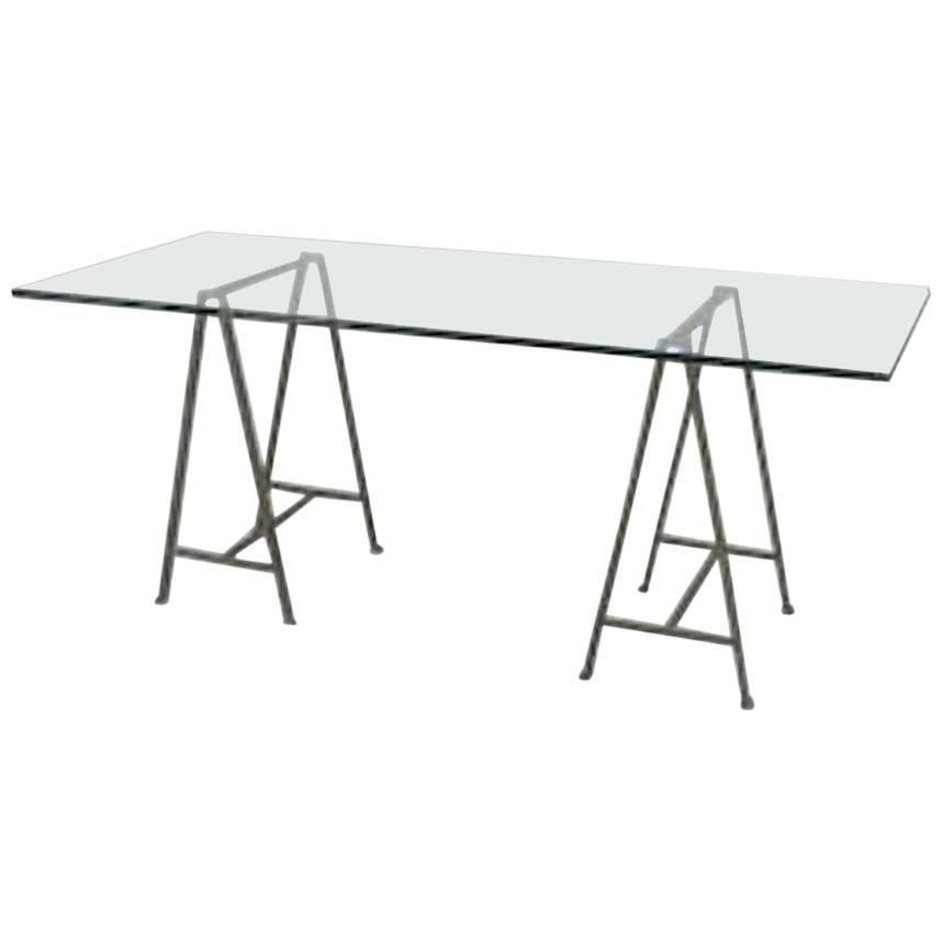 Post-War Design 'Giacometti Style' Table Desk