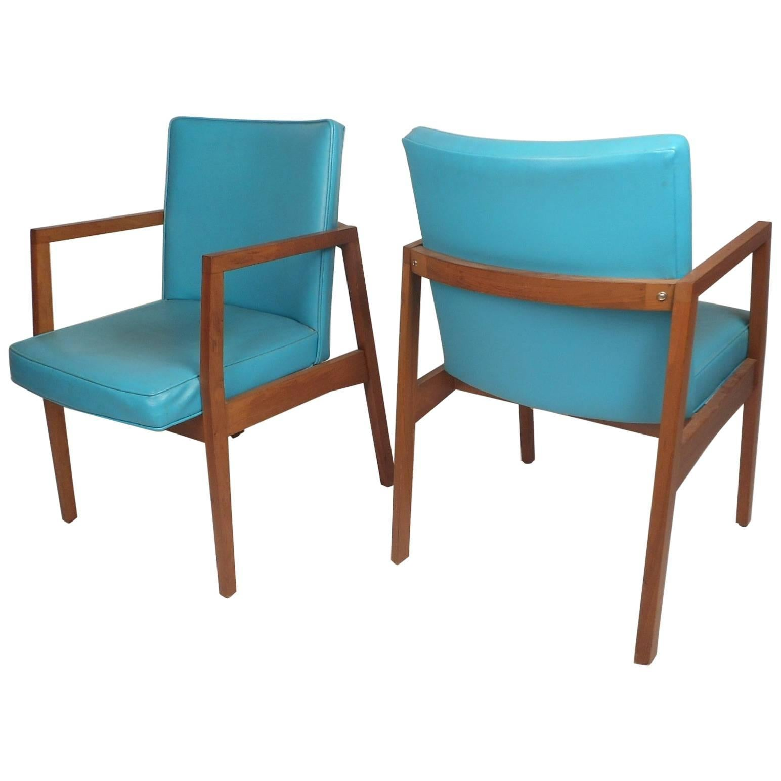 Mid century modern lounge chairs by j b van sciver co for sale at 1stdibs
