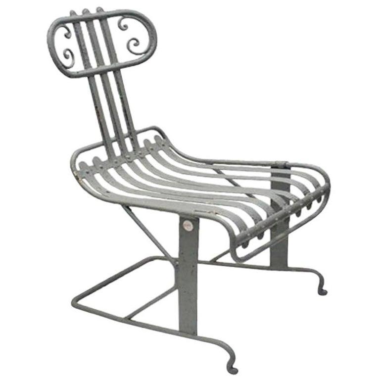 Metal Garden Chair For