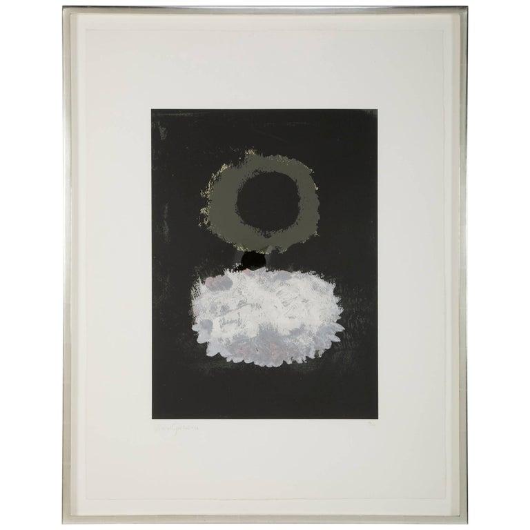 Black Field, Adolph Gottlieb Screen Print