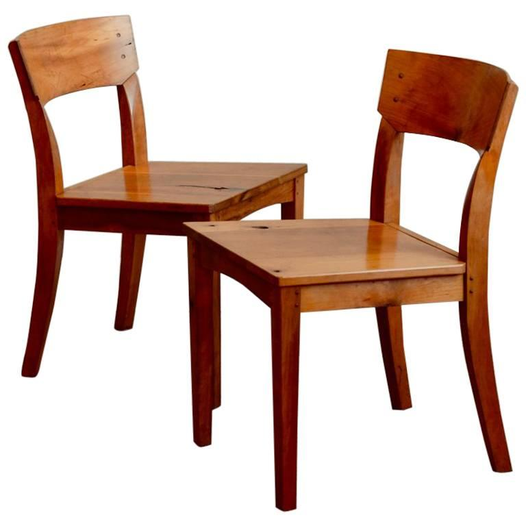 Pair of Woodworker Studio Chairs