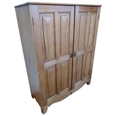 Two-Door Cupboard with Shelves and Drawers