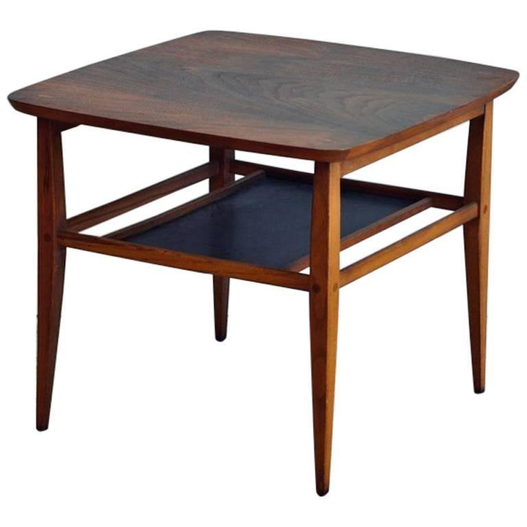 Walnut Side Table by Lane