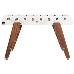 RS #3 Wood Football Table in White by RS Barcelona