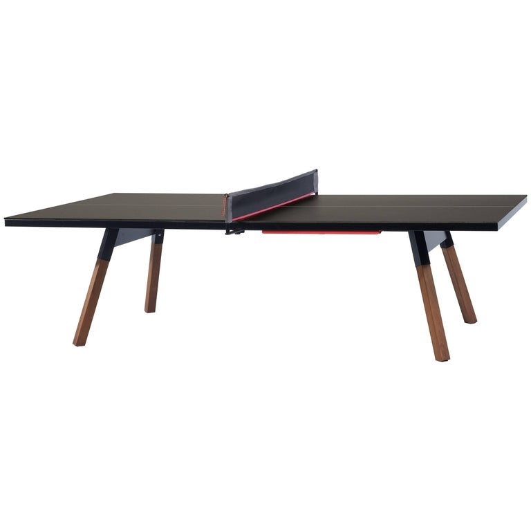 You & Me Ping Pong Table in Standard Black by RS Barcelona For Sale
