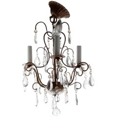 ON SALE!! Petite  French Elegance Chandelier Bewitched, Bewildered and Bedazzled