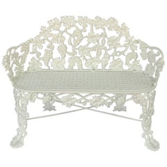 American Garden Bench of Cast Iron by Hart