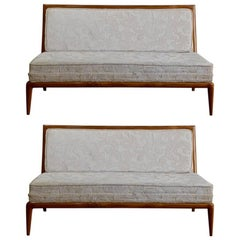 Pair of Elegant Settees by T.H. Robsjohn-Gibbings