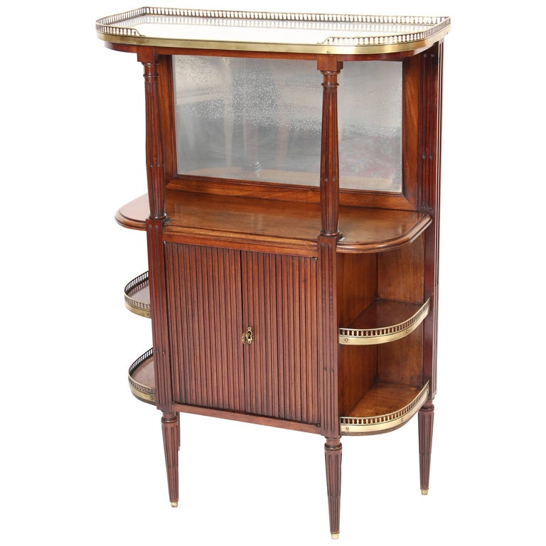 Louis XVI Style Etagere or Cabinet