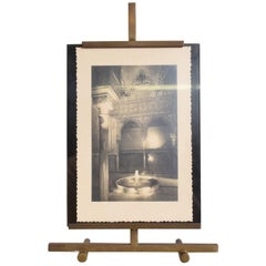 Italian Picture Frame in Brass Midcentury Period Punto Bacola Montagnani