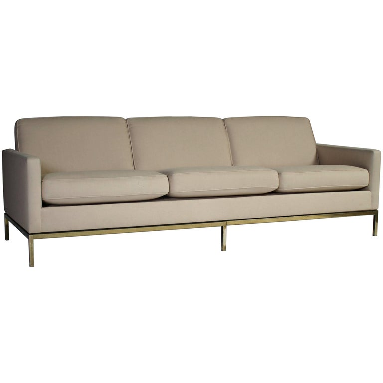 Florence Knoll Three-Seat Sofa