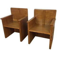 Art Deco Chairs from the Seafarers Mission Southampton