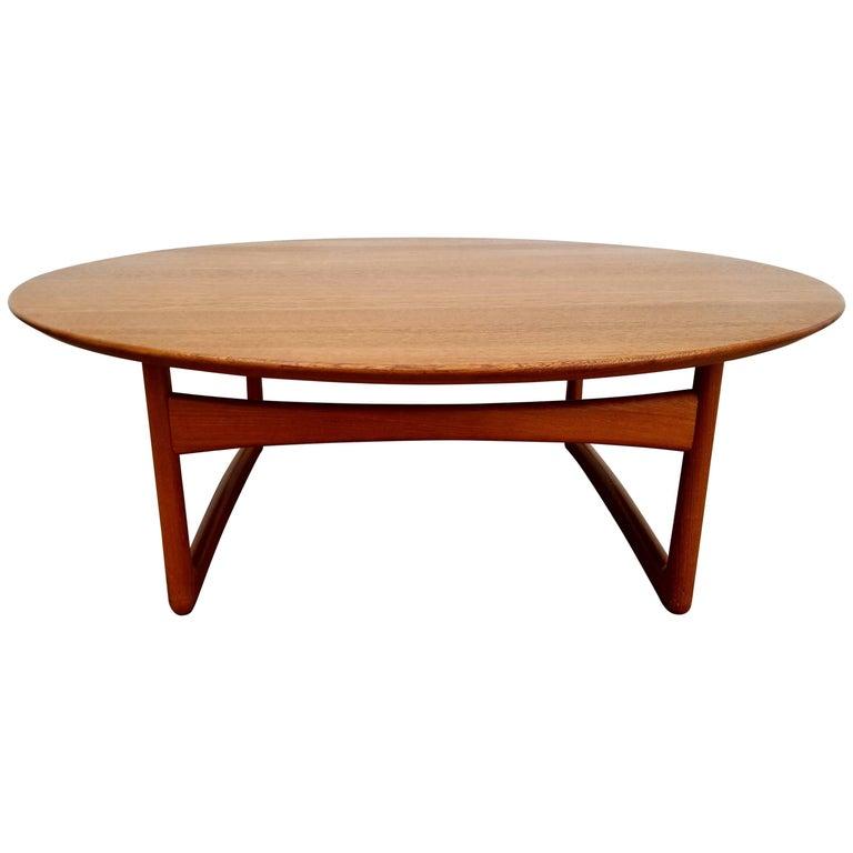 Teak Coffee Table by Peter Hvidt