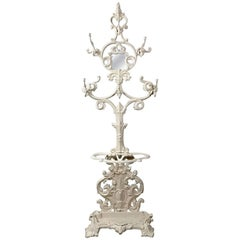 Civil War Period Cast Iron Hall Tree