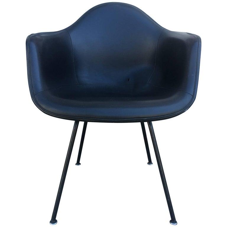 Herman Miller Eames Black on Black Armchair